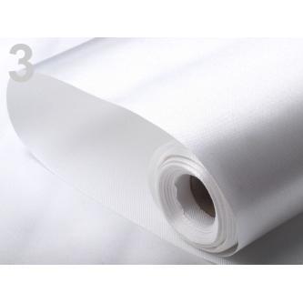 Role saténové látky bez lemování, velmi kvalitní, výborně se dá tvarovat. Šířka role 30 cm, délka 9 m.