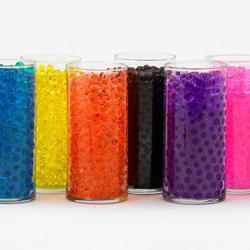 Gelové vodní perly - barevné