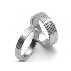 Ocelové snubní prsteny SRZ0480