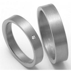 Titanové snubní prsteny STT0700