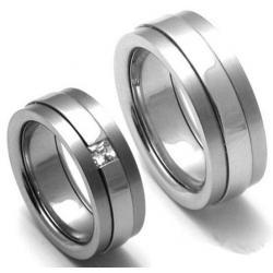 Titanové snubní prsteny STT2200