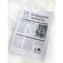 Výtisk Svatební noviny