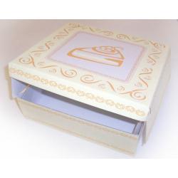 Krabička na dort – 28X28 karton s potiskem