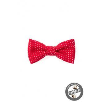 Chlapecký červený motýlek MINI zn. Avantgard 531-5082-0