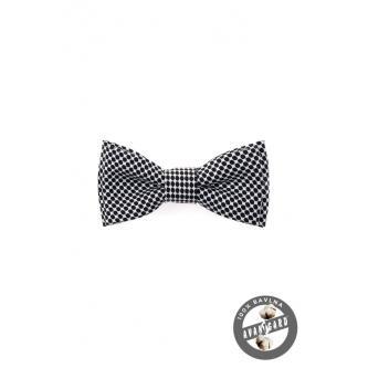 Chlapecký černo-bílý motýlek MINI zn. Avantgard 531-5087-0