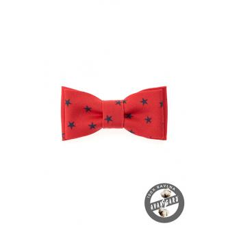 Chlapecký červený motýlek MINI zn. Avantgard 531-5090-0
