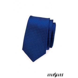 Pánská modrá kravata SLIM zn. Avantgard 551-1555-0