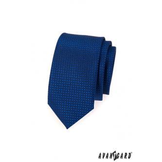 Pánská modrá kravata SLIM zn. Avantgard 551-1590-0