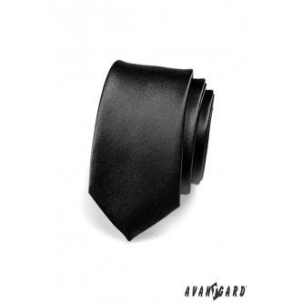 Pánská černá kravata SLIM zn. Avantgard 551-705-0