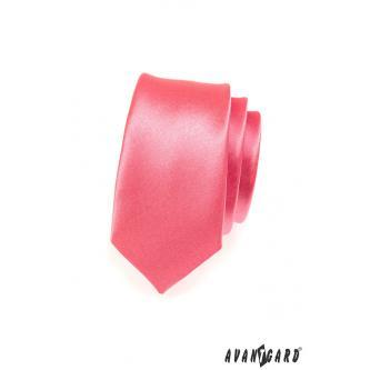 Pánská korálová kravata SLIM zn. Avantgard 551-777-0