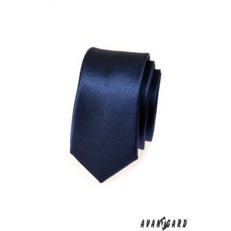 Pánská modrá kravata SLIM zn. Avantgard 551-782-0