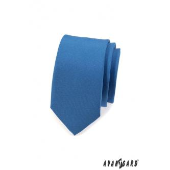 Pánská modrá kravata SLIM zn. Avantgard 551-7935-0