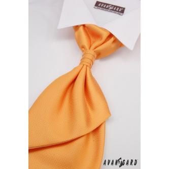 Pánská oranžová regata s kapesníčkem zn. Avantgard 555-091001-0