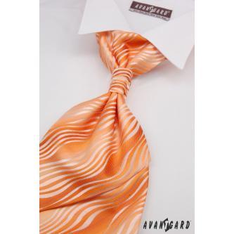 Pánská oranžová regata s kapesníčkem zn. Avantgard 555-71107-0