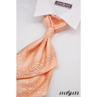 Pánská oranžová regata s kapesníčkem zn. Avantgard 555-71111-0