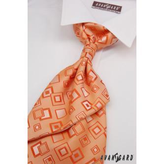 Pánská oranžová regata s kapesníčkem zn. Avantgard 555-71115-0