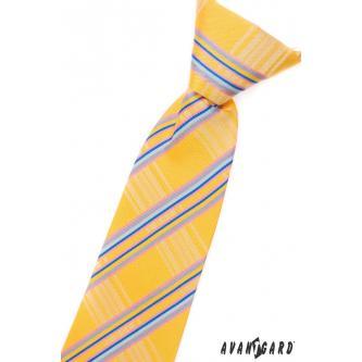 Chlapecká žlutá kravata zn. Avantgard 558-1206-0