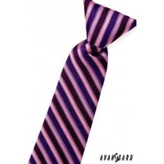 Chlapecká růžová kravata zn. Avantgard 558-1385-0