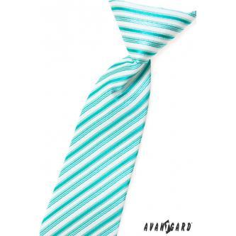 Chlapecká mátová kravata zn. Avantgard 558-1457-0