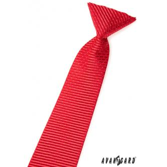 Chlapecká červená kravata zn. Avantgard 558-1566-0