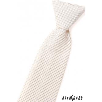 Chlapecká smetanová kravata zn. Avantgard 558-38-0