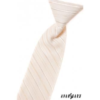 Chlapecká smetanová kravata zn. Avantgard 558-39-0