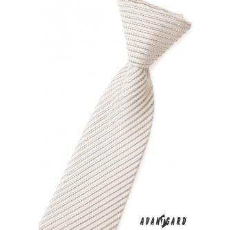 Chlapecká šedá kravata zn. Avantgard 558-44-0