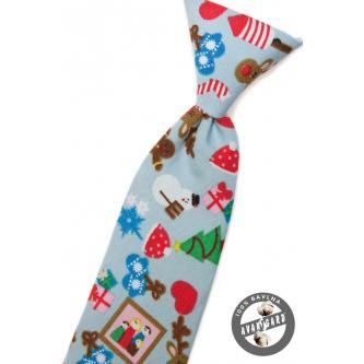 Chlapecká modrá kravata zn. Avantgard 558-5041-0