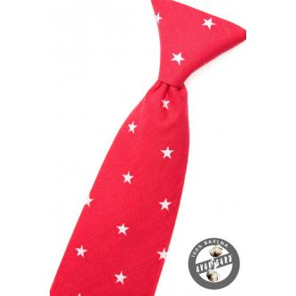 Chlapecká červená kravata zn. Avantgard 558-5042-0