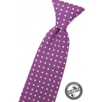 Chlapecká fialová kravata zn. Avantgard 558-5044-0