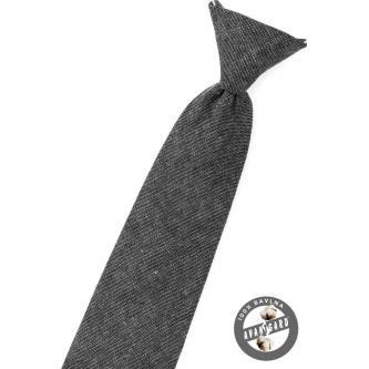 Chlapecká grafitová kravata zn. Avantgard 558-5083-0