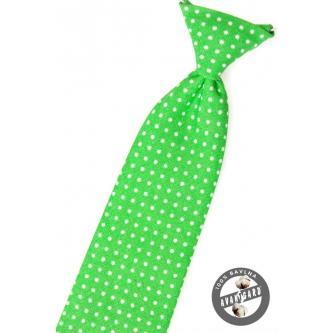 Chlapecká zelená kravata zn. Avantgard 558-5106-0