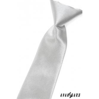 Chlapecká stříbrná kravata zn. Avantgard 558-737-0