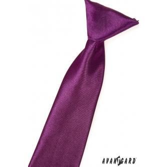 Chlapecká fialová kravata zn. Avantgard 558-738-0