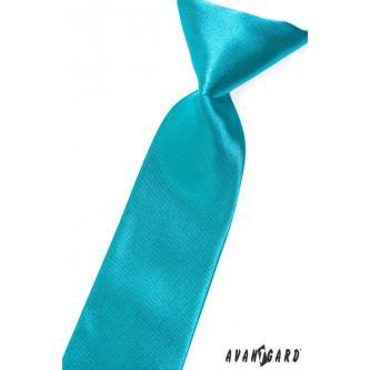 Chlapecká tyrkysová kravata zn. Avantgard 558-741-0