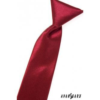 Chlapecká bordóá kravata zn. Avantgard 558-754-0