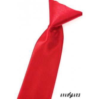 Chlapecká červená kravata zn. Avantgard 558-758-0