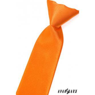 Chlapecká oranžová kravata zn. Avantgard 558-783-0
