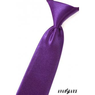 Chlapecká fialová kravata zn. Avantgard 558-9017-0