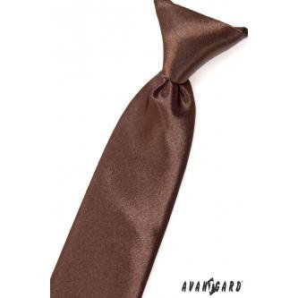 Chlapecká hnědá kravata zn. Avantgard 558-9018-0