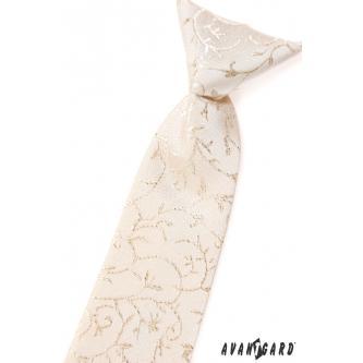 Chlapecká smetanová kravata zn. Avantgard 558-9548-0