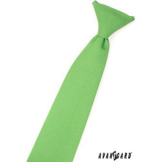 Chlapecká zelená kravata zn. Avantgard 558-9829-0