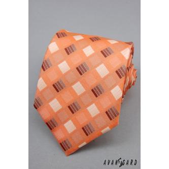 Pánská oranžová kravata zn. Avantgard 559-090112-0