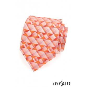 Pánská oranžová kravata zn. Avantgard 559-1188-0