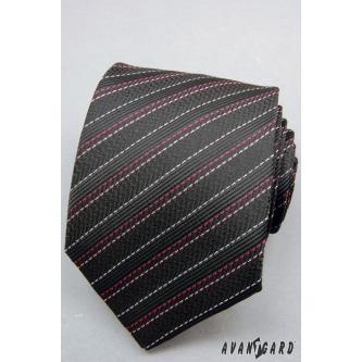 Pánská černá kravata zn. Avantgard 559-1225-0