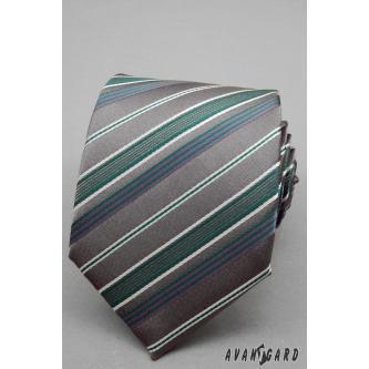 Pánská šedá kravata zn. Avantgard 559-1254-0