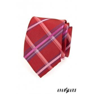 Pánská červená kravata zn. Avantgard 559-1305-0