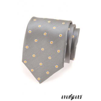 Pánská šedá kravata zn. Avantgard 559-1315-0