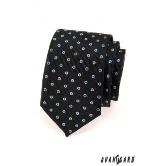 Pánská černá kravata zn. Avantgard 559-1353-0