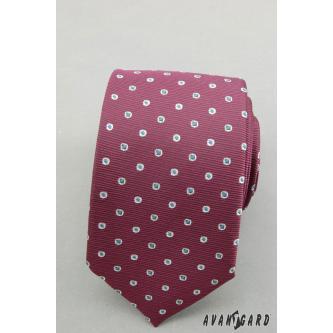Pánská fialová kravata zn. Avantgard 559-1356-0